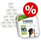 Barquettes Yarrah Bio pour chien 12 x 150 g à prix avantageux !