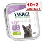 Barquettes Yarrah 10 x 100 g + 2 barquettes offertes !