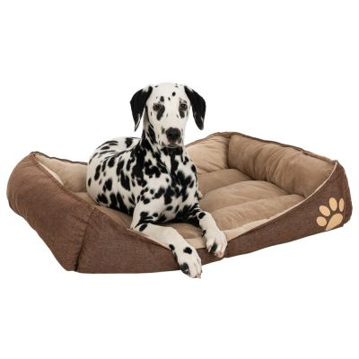 Basic Cuddle Bed - Brown / Beige
