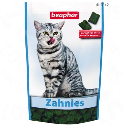 Beaphar Bocaditos Dental Bits snack para gatos