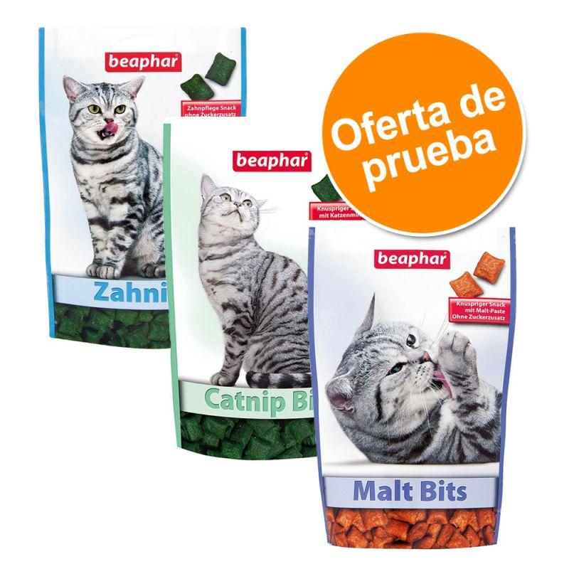 Beaphar Bocaditos snack para gatos - Pack de prueba mixto