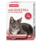 Beaphar Milquestra 16 mg / 40 mg Filmtabletten voor Katten ≥ 2 kg (NL)