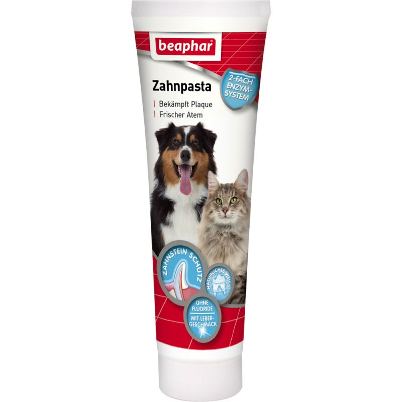 beaphar pasta de dientes para perros y gatos