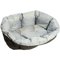 Überzug Sofà blau Tweed für Ferplast Hundekorb Siesta Deluxe