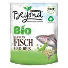 Beyond Bio Adult rica em peixe e arroz para cães
