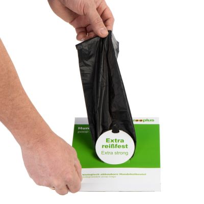 Biodegradable Dog Poop Bags with Handles
