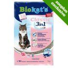 Biokat's Classic Fresh 3in1 Cat Litter - Baby Powder Scent