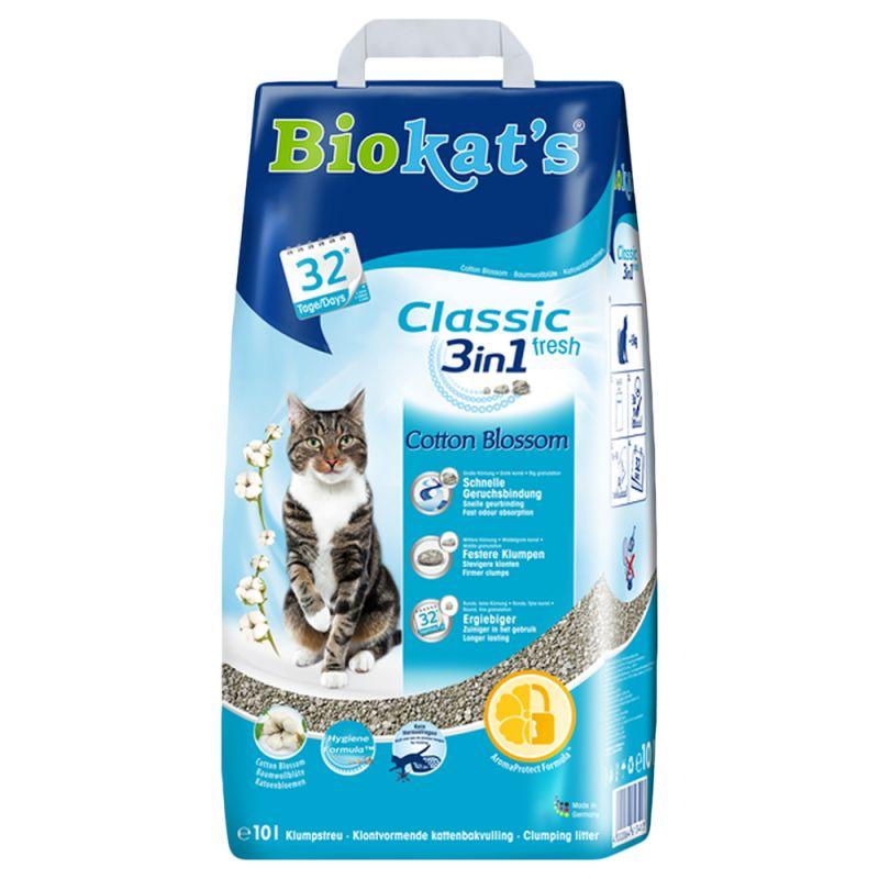 Biokat's Classic Fresh 3in1 Cotton Blossom
