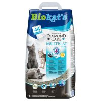 Biokat's DIAMOND CARE MultiCat Fresh arena aglomerante