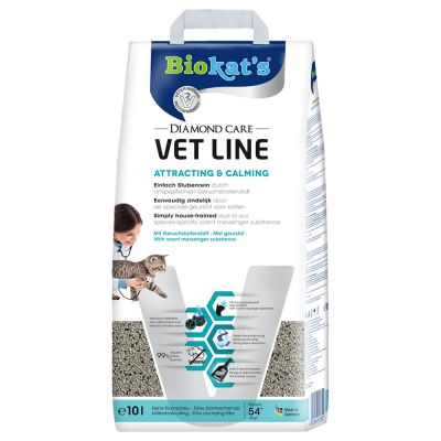 Biokat's DIAMOND CARE Vet Line Attracting & Calming arena aglomerante