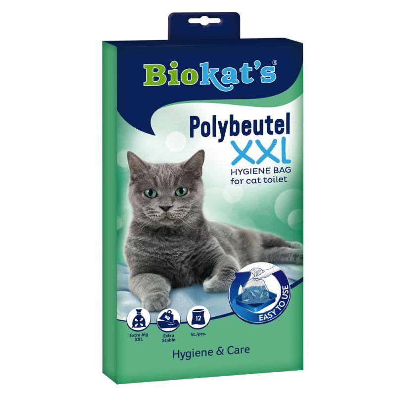 Biokat's engångs-polypåsar för kattoaletter