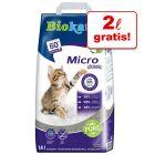 Biokat's Micro arena aglomerante 14 l en oferta: 12 + 2 l ¡gratis!