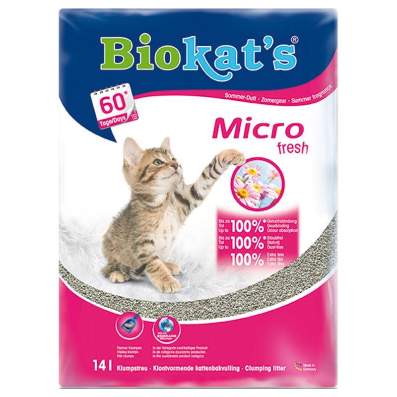 Biokat's Micro Fresh -kissanhiekka