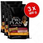 Biscoitos para cão Pro Plan: 3 x 400