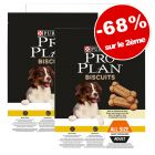 Biscuits PURINA PRO PLAN light 2 x 400 g : - 68 % sur le 2ème paquet !