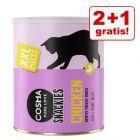 Black Week- erbjudande: 2 + 1 på köpet! Cosma Snackies Maxi Tubes