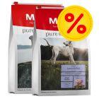Blandat dubbelpack 2 x 12,5 kg: 2 sorter Meradog Pure torrfoder
