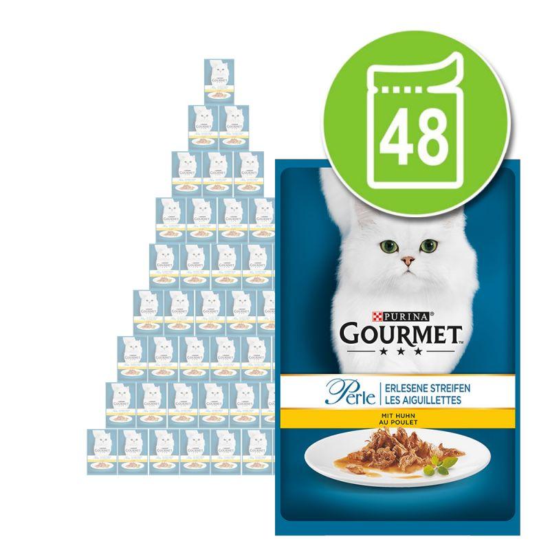 Blandat ekonomipack: Gourmet Perle 48 x 85 g