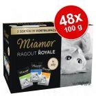Blandat ekonomipack: Miamor Ragout Royale 48 x 100 g
