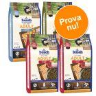 Blandat provpack: bosch Adult torrfoder 4 x 1 kg