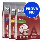 Blandat provpack: Briantos Adult torrfoder, 3 x 3 kg