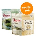Blandat provpack: Purizon Snacks 2 x 100 g