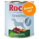 Blandat provpack: Rocco Sensitive 6 x 800 g