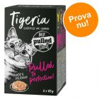 Blandat provpack Tigeria Pulled Meat 6 x 85 g