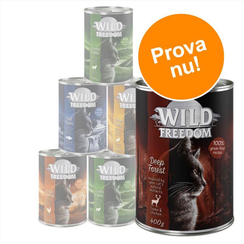Blandat provpack: Wild Freedom Adult