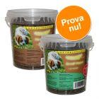 Blandat provpack: 2 x 540 g Caniland Soft, häst och struts!