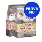 Blandat provpack: 2 x 1 kg Purizon Single Meat hundfoder