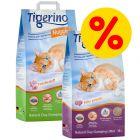 Blandat sparpack: Tigerino Nuggies, 2 x 14 kg