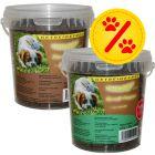 Blandat sparpack: 2 x 540 g Caniland Soft, häst och struts!