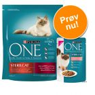 Blandet pakke: 800 g Purina ONE + 6 x 85 g Purina ONE vådfoder