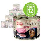 Blandet pakke Animonda Carny Adult 12 x 200 g