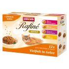 Blandet pakke Animonda Rafiné Soupé 12 x 100 g