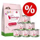 Blandet pakke: Feringa Kitten tørfoder og Feringa kitten vådfoder