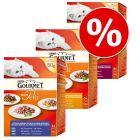 Blandet pakke med Gourmet Mon Petit 18 x 50 g til katt