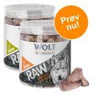 Blandet pakke med 2 slags: Wolf of Wilderness - Raw Snacks