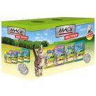 Blandet pakke: 12 x 100 g MAC's Cat portionspose
