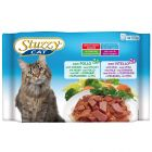 Blandet pakke: 8 x 100 g Stuzzy Cat