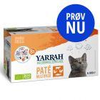 Blandet pakke: 8 x 100 g Yarrah Øko Pâté