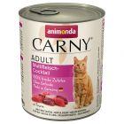 Blandet prøvepakke Animonda Carny Adult 6 x 800 g