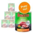 Blandet prøvepakke: Rocco Menu 6 x 800 g