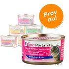 Blandet prøvepakke: 6 x 90 g Feline Porta 21