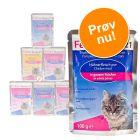 Blandet prøvepakke: 6 x 100 g Feline Porta 21