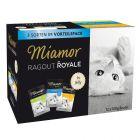 Blandet prøvepakke: 12 x 100 g Miamor Ragout Royale
