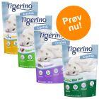 Blandet prøvepakke: 6 x 5 l Tigerino Crystals kattegrus
