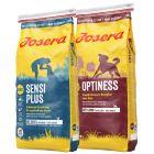 Blandet sparepakke: Josera Optiness + Sensiplus