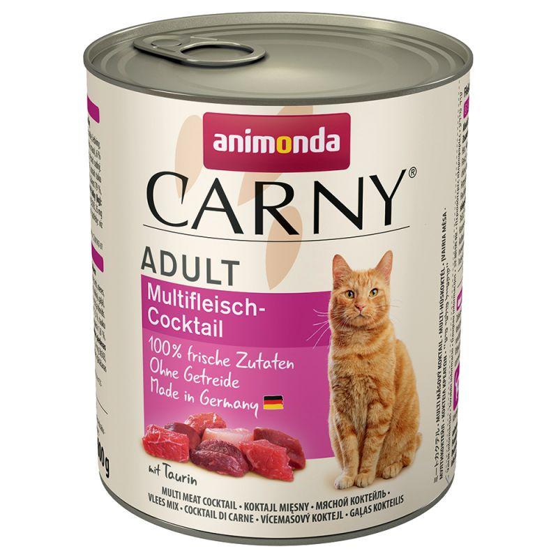 Blandpack: Animonda Carny Adult 6 x 800 g